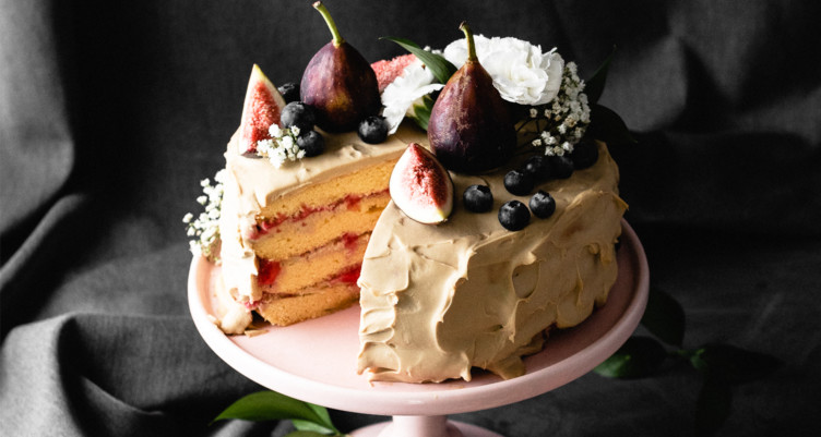 Coconut Raspberry Keto Birthday Cake Grain Free